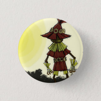 Skullkid Leafs the Forest 3 Cm Round Badge