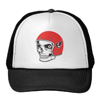 ☞ Skullracer motorcycle helmet Cap
