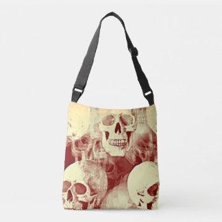 Skulls a spooky cross bodybag bywhacky crossbody bag