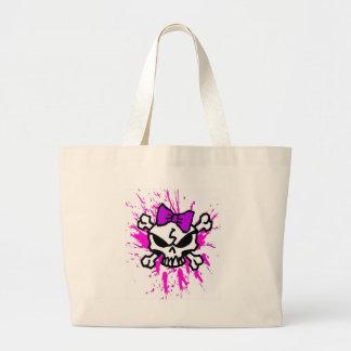 Skulls and Crossbones Tote Bag