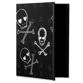 skulls and crossbones black powis iPad air 2 case