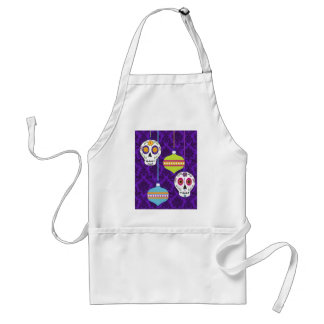 Skulls and Ornaments Apron