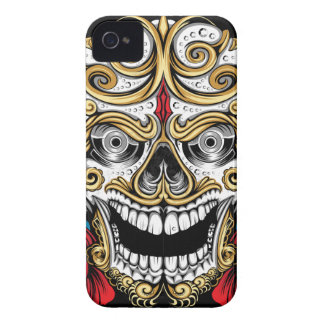 SKULLS AND ROSES IPHONE 4 CASE