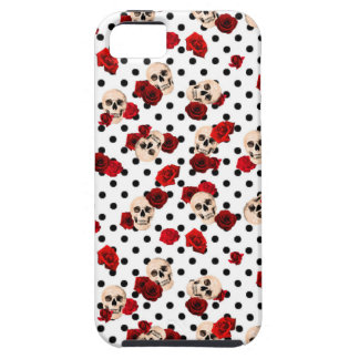 Skulls and roses iPhone 5 cases