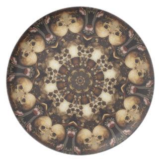 Skulls Aplenty Plate