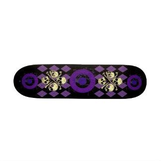 Skulls Argyle Skateboard
