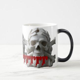 Skulls & Bones Pirate Skeleton Magic Mug