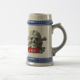 Skulls & Bones Pirate Skeleton Mug/ Stein