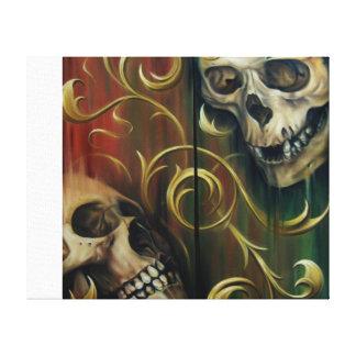 Skulls Canvas Canvas Print