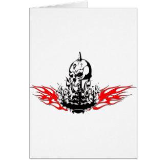 Skulls Card