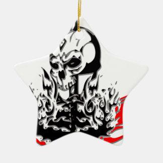 Skulls Ceramic Ornament
