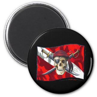 Skulls Collection by DiversDen Refrigerator Magnets