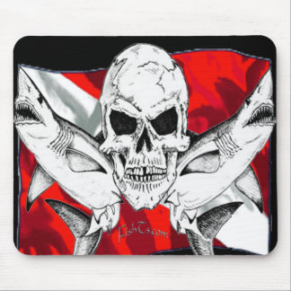 Skulls Collection by DiversDen Mouse Pad