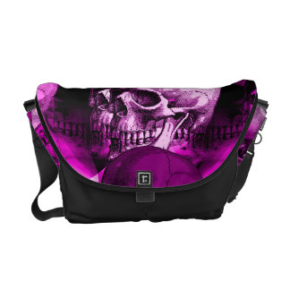 skulls commuter bag
