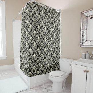 Cream And Black Shower Curtains | Zazzle.com.au