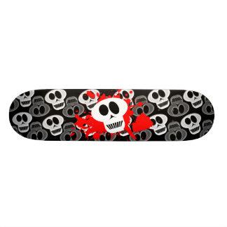 Skulls Dark Custom Skateboard