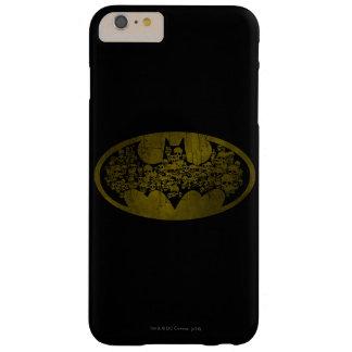 Skulls in Bat Symbol Barely There iPhone 6 Plus Case