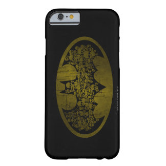 Skulls in Bat Symbol Barely There iPhone 6 Case