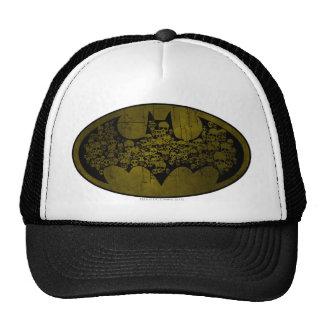 Skulls in Bat Symbol Trucker Hat
