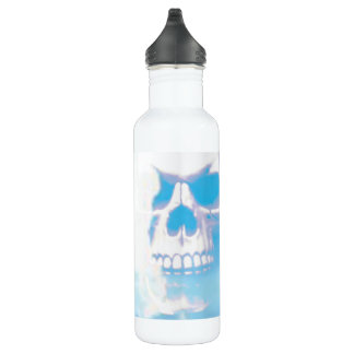 Skulls in the Clouds 710 Ml Water Bottle