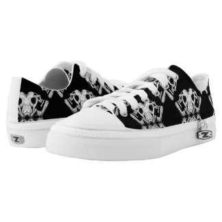 Skulls Kaleidoscope Low Tops