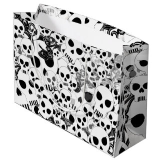 Skulls Large Gift Bag