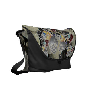 Skulls Messenger Bags
