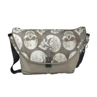 Skulls Courier Bag