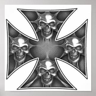 Skulls of the Iron Cross Posters