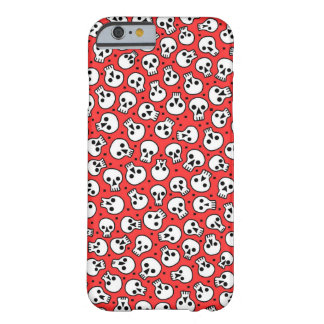 Skulls on Red iPhone 6/6s Case