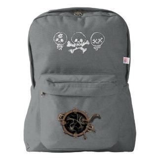 Skulls Porthole Backpack