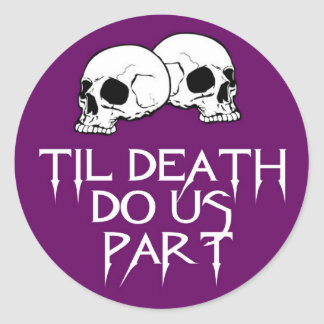 Skulls (Purple) Sticker