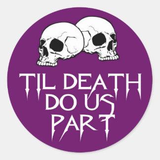 Skulls (Purple) Sticker