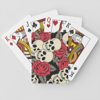Skulls & Roses Playing Cards, Standard Index faces Playing Cards