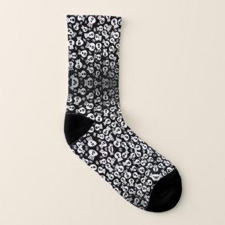 Skulls - socks - socks
