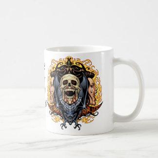 Skulls, Vampires and Bats customizable by Al Rio. Coffee Mug