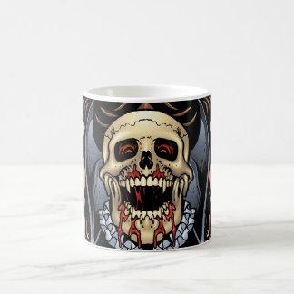 Skulls, Vampires and Bats Gothic Design by Al Rio Mug