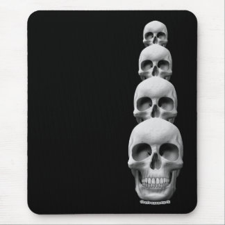 Skulls - Vertical Mouse Pad