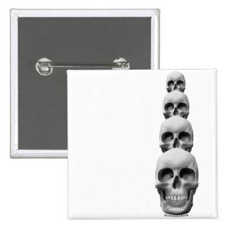Skulls - Vertical Pins