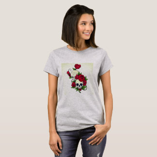 Skulls With Roses T-Shirt