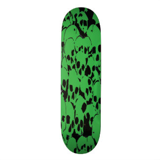 Skullsgreen copy 21.6 cm skateboard deck