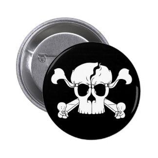 Skullusion 6 Cm Round Badge