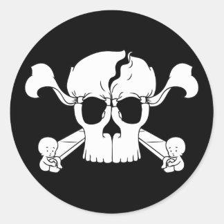 Skullusion Sticker