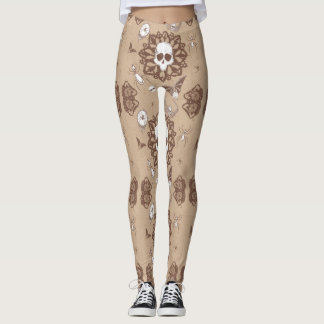 Skully Leggings