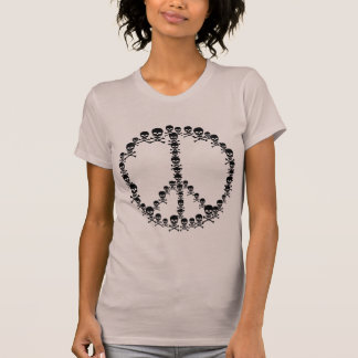 Skully Peace Sign T-Shirt