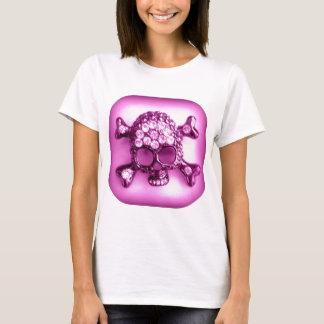 SKULLY PINK PRINT T-Shirt