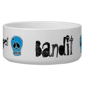 Skully - Punky Pet Bowl, LG