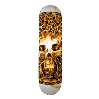 Skully Skull Death Burn Skateboards