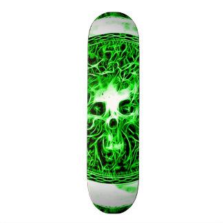 Skully Skull Death Faerie Skateboard