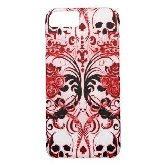 Skully Skull Demon Poker iPhone 7 Case